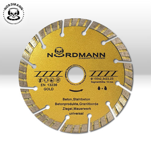 NORDMANN-GOLD / Ø 150mm
