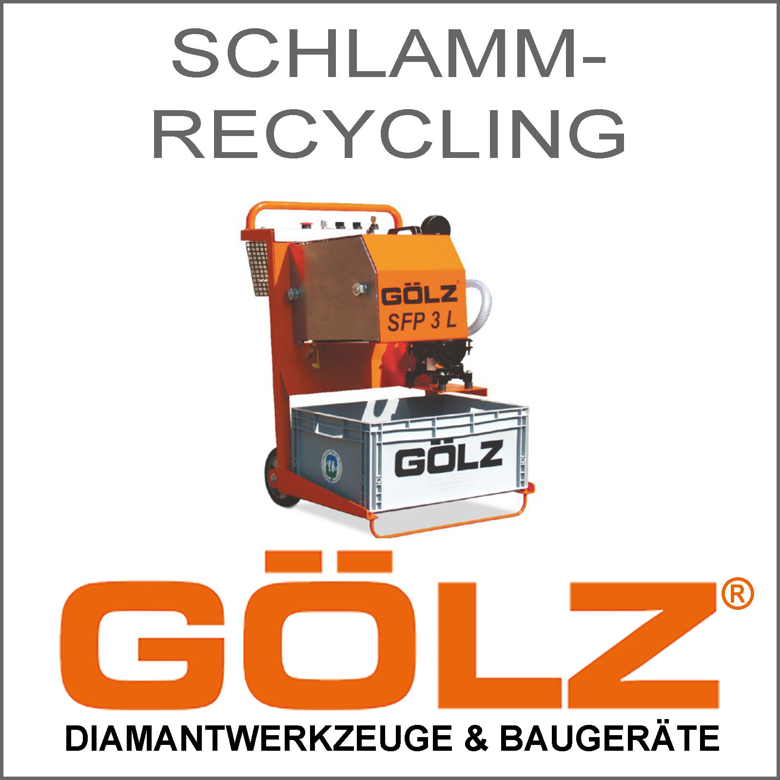 GOeLZ-Schlammrecycling